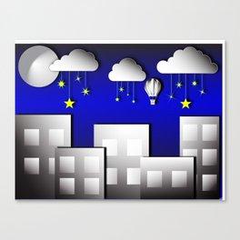 Sleep tight kiddo Canvas Print