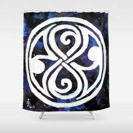 The Seal of Rassilon Shower Curtain
