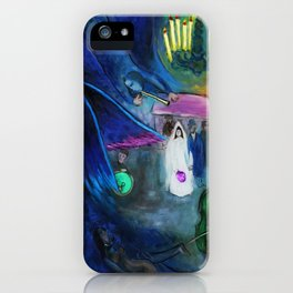 The Wedding by Marc Chagall iPhone Case