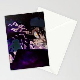 Black Clover Asta Stationery Cards