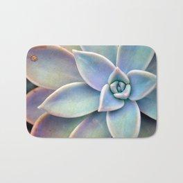 Pastel Succulent Badematte