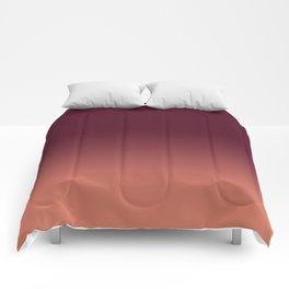 Maroon to Blush Comforters