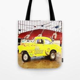 Yellow Roadster Tote Bag