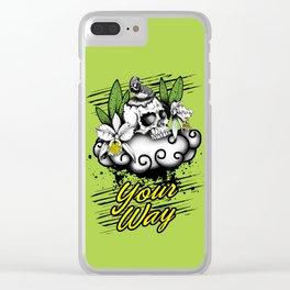 Nido de Ave Curio Clear iPhone Case