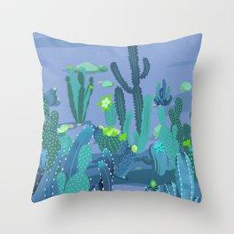 Cactus Variety 10 Throw Pillow