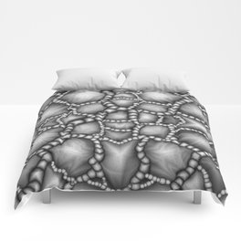 Chaotic Clusters Macro Abstract Comforters
