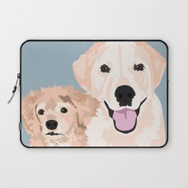 Carmen and Shelby Laptop Sleeve