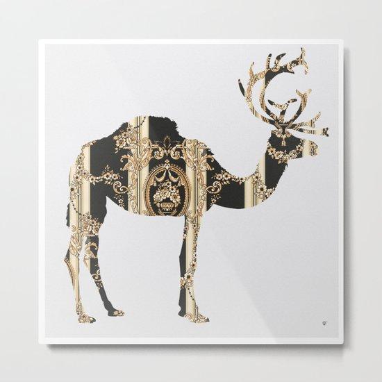 FabCreature · CaDeerPa 3 Metal Print