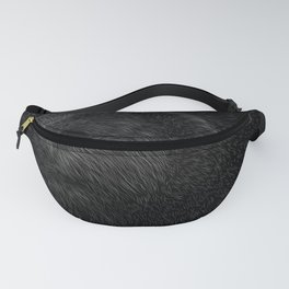 Grizzly Line art Fanny Pack