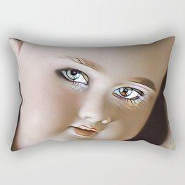 Doll Pieces Rectangular Pillow