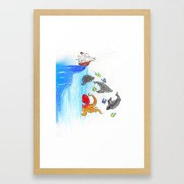 Edge Of The World 2016 Framed Art Print