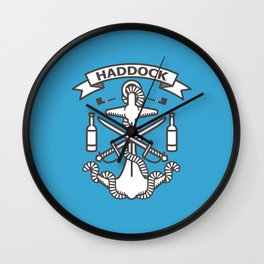 Mark of Haddock Wall Clock