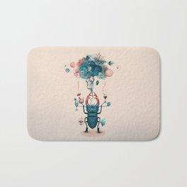 funny beetle Bath Mat