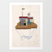 Free Land 2 Art Print