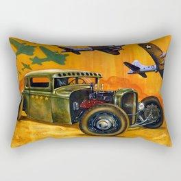 Pride of the fleet Rectangular Pillow