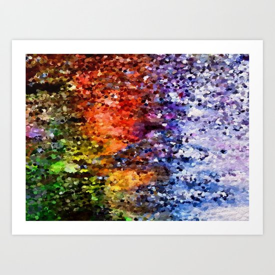 Puddle Art Print