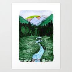 Landscapes / Nr. 2 Art Print
