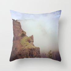 Heartbreak Ridge, Table Mountain WA 2 Throw Pillow