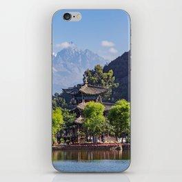 Black Dragon Pool - China iPhone Skin