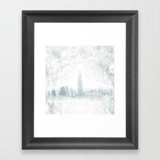 New York fantasy III Framed Art Print