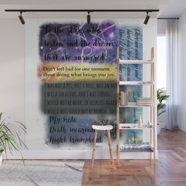 ACOMAF QUOTES Wall Mural