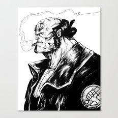 Right Hand of Doom (Ink) Canvas Print