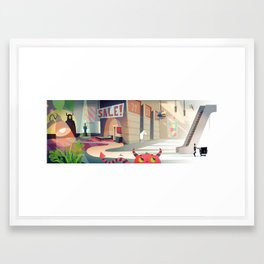 The Magical Land of IKEA Framed Art Print