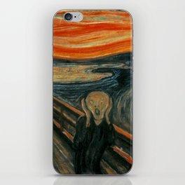 The Scream by Edvard Munch, circa 1893 iPhone Skin