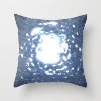 stargate Throw Pillows featuring Event Horizon - Stargate by Geek Bias
