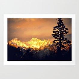 Majestic Glow Art Print
