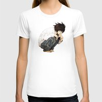 death note T-shirts featuring L - Death Note by josemaHdeH