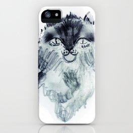 minnoş kedi iPhone Case