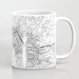 Florence White Map Coffee Mug