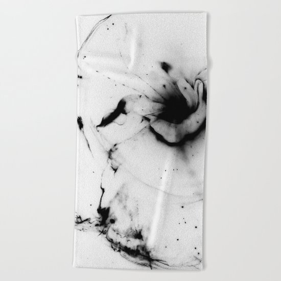 Minimalist abstract Beach Towel