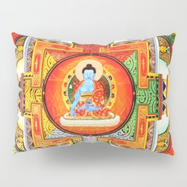 Buddhist Healing Mandala Pillow Sham