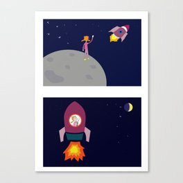 Adventure Kids Canvas Print