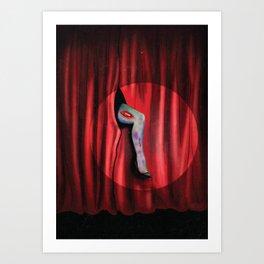 Zombie Burlesque Show Art Print