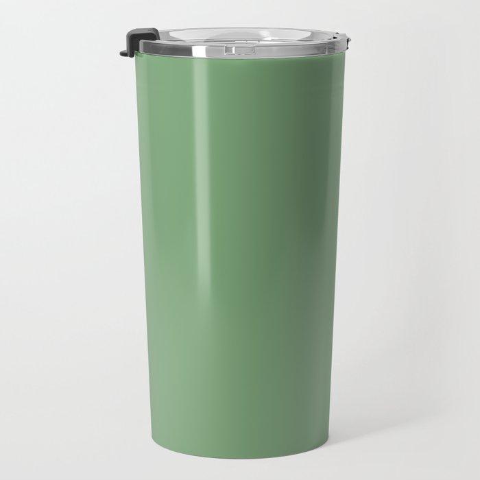 A simple palette of Green Travel Mug