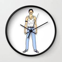Freddie 1 Gangster Cholo Look Wall Clock