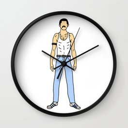 Champions 1 Gangster Cholo Look Wall Clock