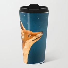 Fox and Stars Travel Mug