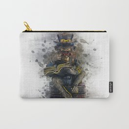Steampunk Monkey Carry-All Pouch