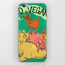 Goat SCREAM iPhone Skin