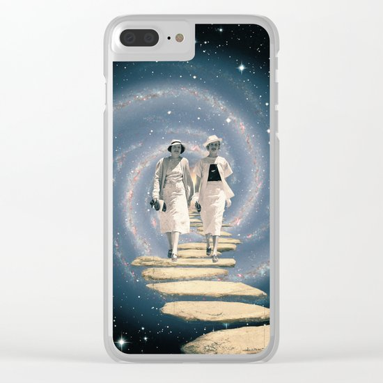 Leaving the Milky Way Clear iPhone Case