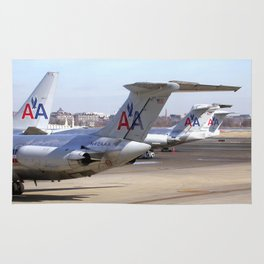 American  Airlines Tails Rug