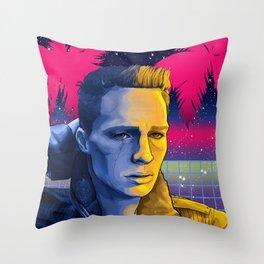 Celestial Beach - Colton Haynes Fanart. (Teen Wolf & Arrow)  Throw Pillow