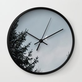 Half Moon | Nature and Landscape Photography Wall Clock