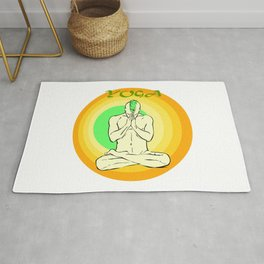 Yoga: asana Rug