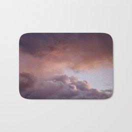 Clouded romance Bath Mat