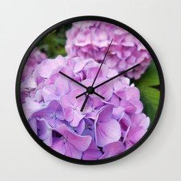 Hydrangea 1 Wall Clock